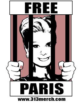 Free Paris Hilton T-Shirt