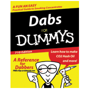 dabs for dummies sticker